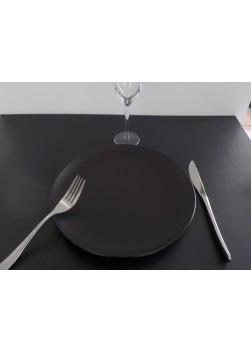 Assiette ronde Noire 27cm