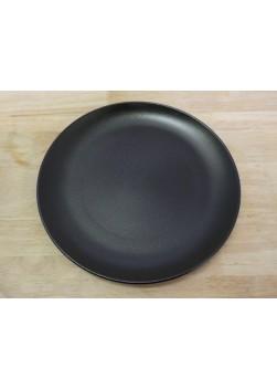 Assiette ronde noire 27 cm