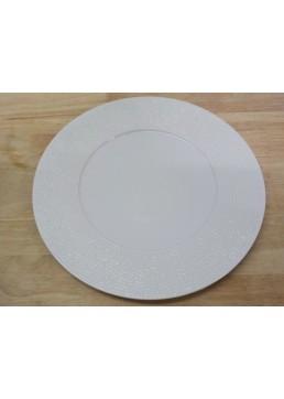 Assiette ronde Martelée 31 cm