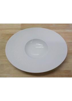 Assiette Creuse Ovale Boreal Satin