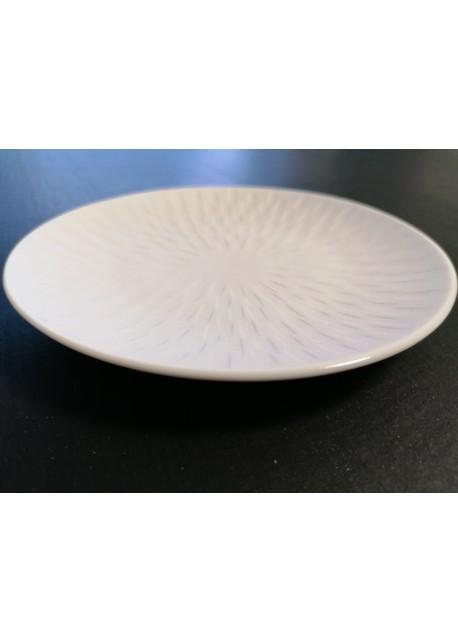 Assiette Guy Degrenne ronde 15 cm Boreal Satin