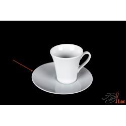Soucoupe pour tasse à café asymétrique